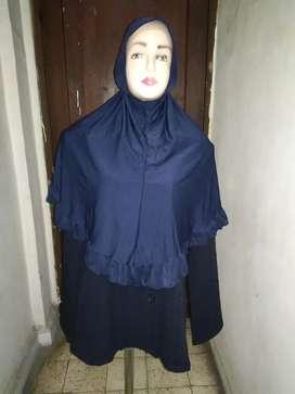 Set baju dan jilbab navy