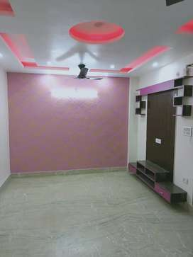 3bhk new builder floor with lift and car parking