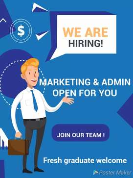 Kantor mitra bth marketing dan admin