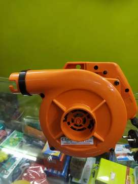 Blower with nozzle
