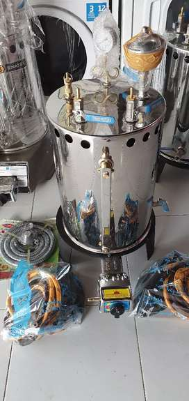 Setrika Uap Laundry 20 Liter 2 Setrika