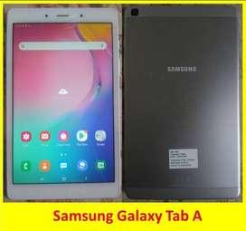 Bonus flip case,kondisi 90% baru Samsung galaxy tab A