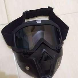 Jual Google Mask Helm
