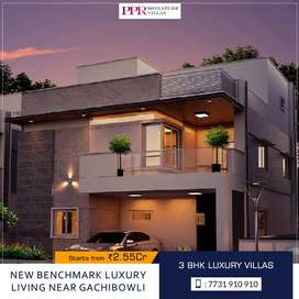 3 & 4 BHK luxury villas for sale