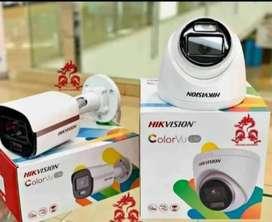 PAKET PROMO KAMERA  CCTV HILOOK 4 CHANEL 2MP SELURUH WILAYAH PANDGLANG