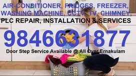AIR-CONDITIONER, FRIDGES, FREEZER, WASHING MACHINE, CCTV, TV, AC REPA,