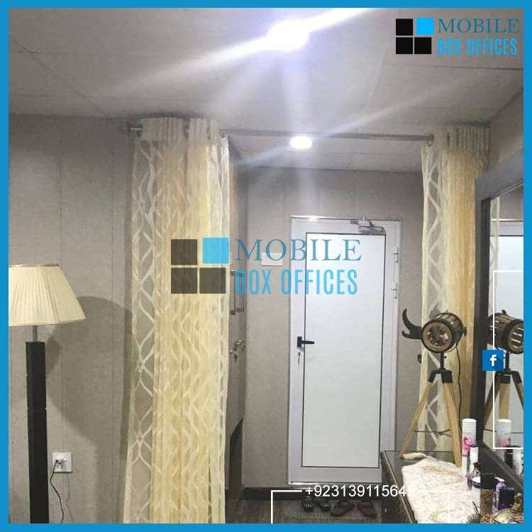 High Quality Prefab Security Guard Cabin, bullet proof cabin move able 0