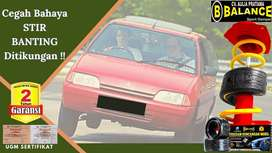 Bahaya Mobil Stir Banting Keluar Lintasan Atasi Dengan BALANCE Damper