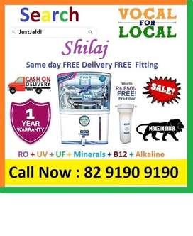 Shilaj AquaGrand  RO Water Purifier Water Filter UV+UF+Minerals+ B12+V
