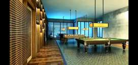 A complex with covered swimming pool for you in TMC project mumbra.
