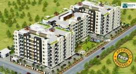 3 BHK 1415 Sq ft Flat Rs. 36 Lakh Registry and all Inclusive price.