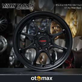 Velg Mobil Rays CE28 Ring 14 Matt Black
