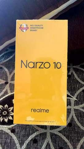 narzo 10 white color