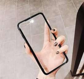 Casing Toughened Glass Super Light iPhone 7 plus / 8 plus Premium TPU