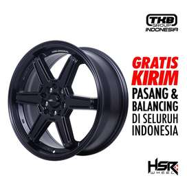 Velg Mobil MINAS HSR Ring 17X7 Hole 5X100-114,3 ET42 Semi Matt Black