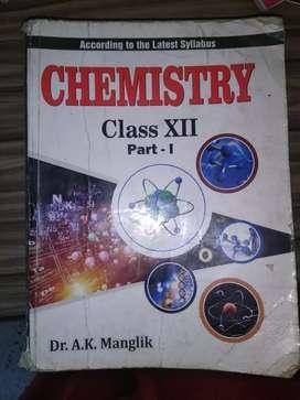 Chemistry class 12 by ak manglik
