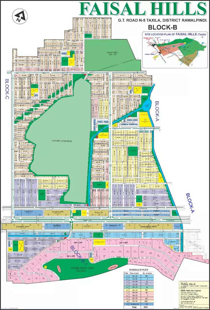 Faisal Hills Prime Location Best Investment File's Available 0