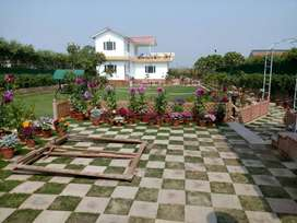 The personal farm house land in Noida available for immediate sale