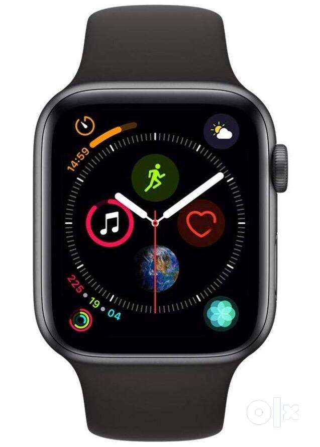 i WATCH SERIES 4 (GPS,44MM)-SPACE GRAY ALUMINIUM WITH BLACK SPORT BAND 0