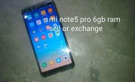 Redmi note5 pro 6gb 64gb black