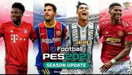 eFOOTBALL PES 2021 SEASON UPDATE BUAT PC/LAPTOP
