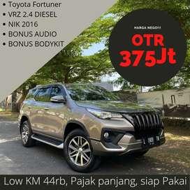 KM 43Rb Full Variasi Fortuner VRZ Diesel Bodykit TRD + Audio