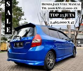 Honda Jazz VTEC Manual 2006/2007 Istimewa Mulus Bukan IDSI Matic
