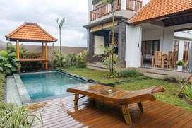 2BR Heavenly View Villa disewakan di Ubud