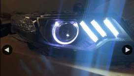 Ford ecosport led headlights mustang GT style