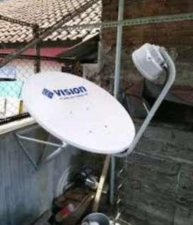 Berlangganan Indovision Mnc Vision jernih tahan hujan tayangan bagus