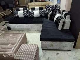 Corner sofa set cum bed at Satya furniture