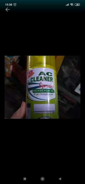 Ac cleaner disinfectant ( Megah top )