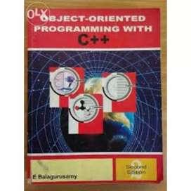 Object-Oriented Programming with C++ (E.Balagurusamy)