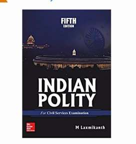 Laxmikanth polity for b.a and upsc preparation /