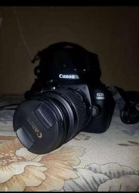 Canon 1300d with kit lens 18-55 complete accaers