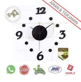 DIY-06 Jam Dinding DIY Giant Wall Clock  30-50cm
