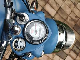500cc squadron blue classic,used only 15000 km