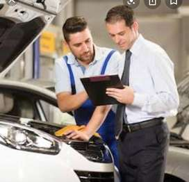 Service manager for premium cars