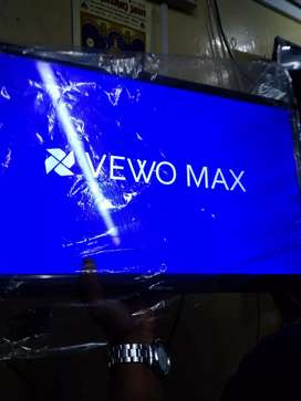 New vewo max full hd led 32inches 3 year warranty