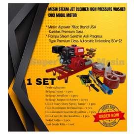 Mesin Steam Jet Cleaner High Pressure Washer Cuci Mobil Motor
