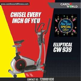 New year special offer on Elliptical with 8 kg Magnetic wheel