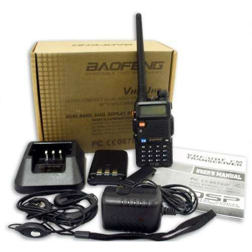 Walkie talkie Baofeng UV 5R Digital Display New handheld Two Way Radio