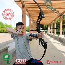 SA TaffSPORT Busur Panah Hunting Archery Bow 30-45 LBS