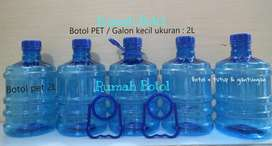 GALON PET / Galon Guci + KRAN 2LT - 5LT - 10LT - 12LT - 20LT