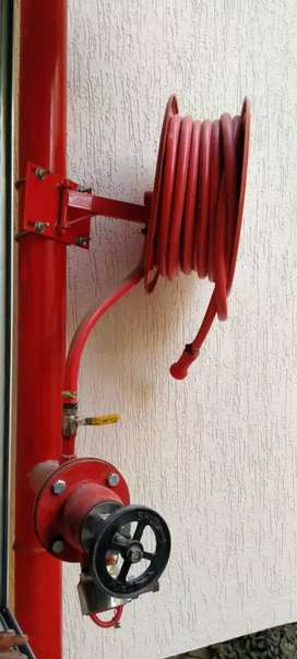 Fire fighting maintinece work