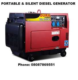 Super-Silent Range of Small Compact Size Portable Power Generator Sets