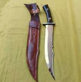 Pisau/ Sangkur Komando Rambo