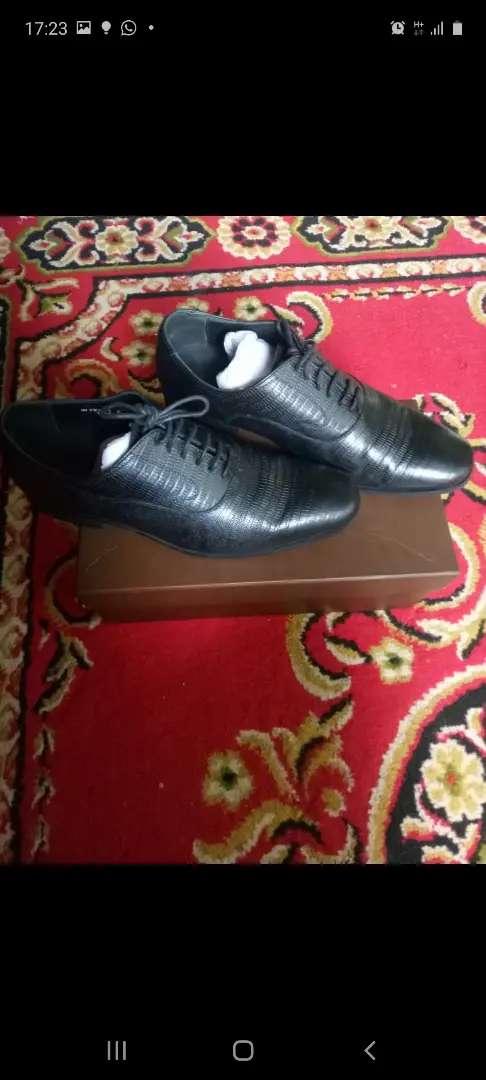"""Sepatu kulit pantofel """" ANDREW"""" 0"""