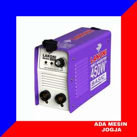 Mesin Inverter Trafo Las Lakoni Basic 123 iX 450 Watt 120 Amper