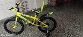 NEON GREEN KIDS BICYCLE